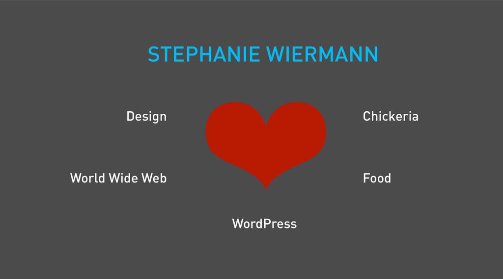 STEPHANIE WIERMANN WordPress World Wide Web Des...
