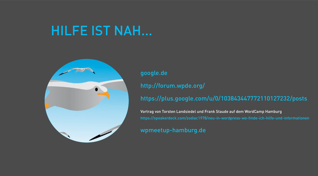 HILFE IST NAH... google.de http://forum.wpde.or...