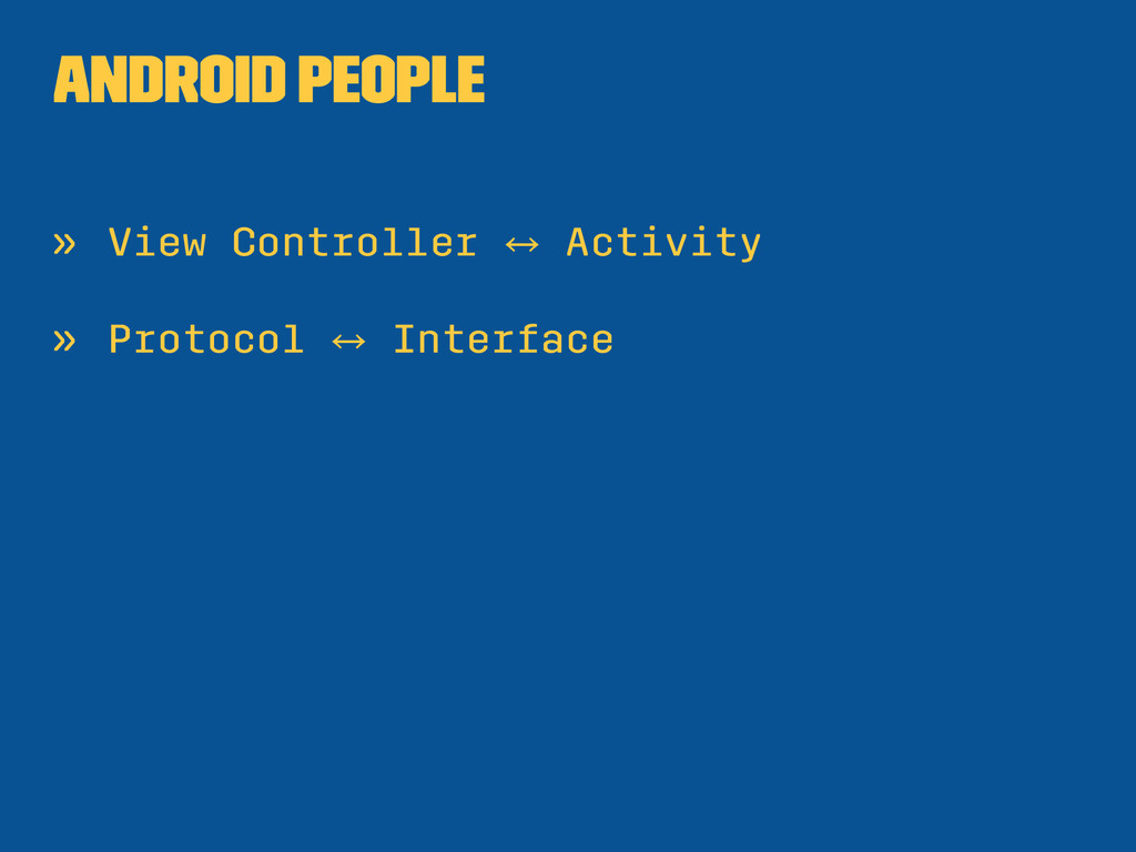 Android People » View Controller 㲗 Activity » P...