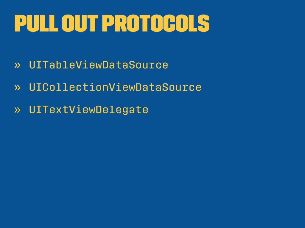 Pull out protocols » UITableViewDataSource » UI...