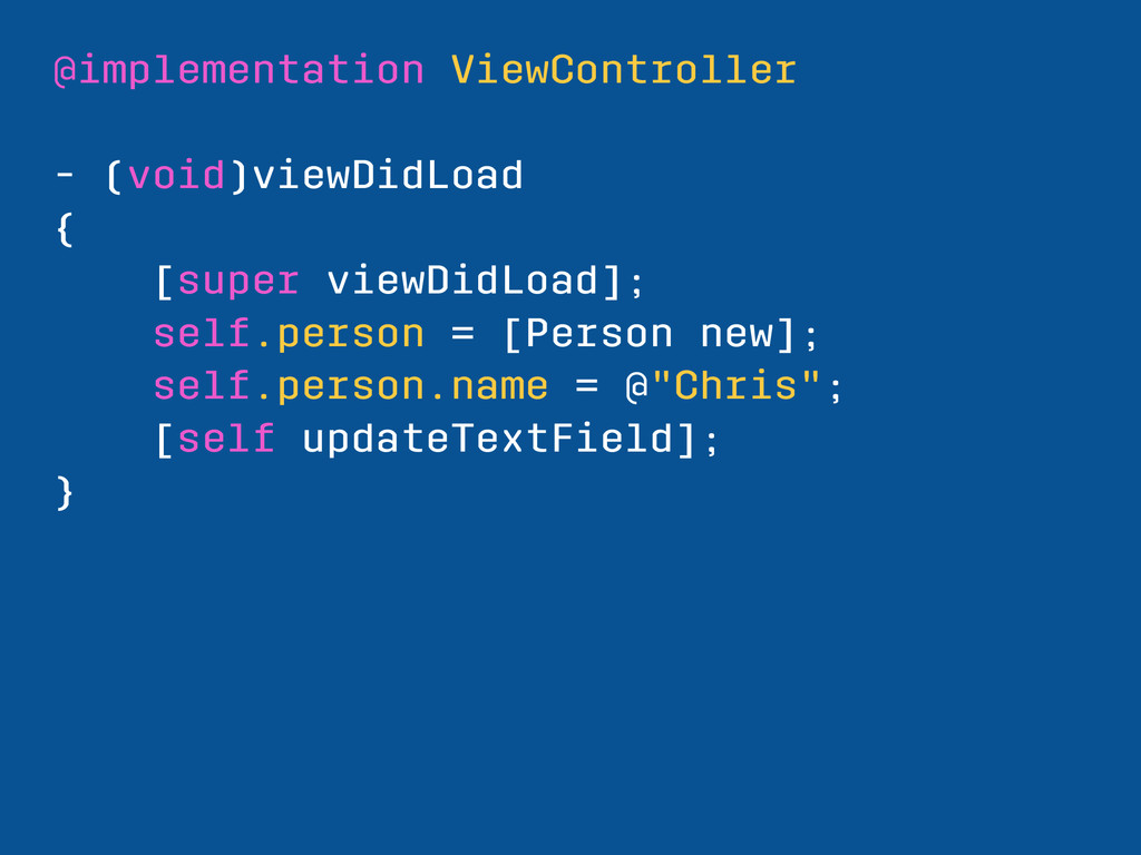@implementation ViewController - (void)viewDidL...