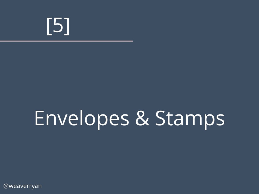 Envelopes & Stamps @weaverryan [5]