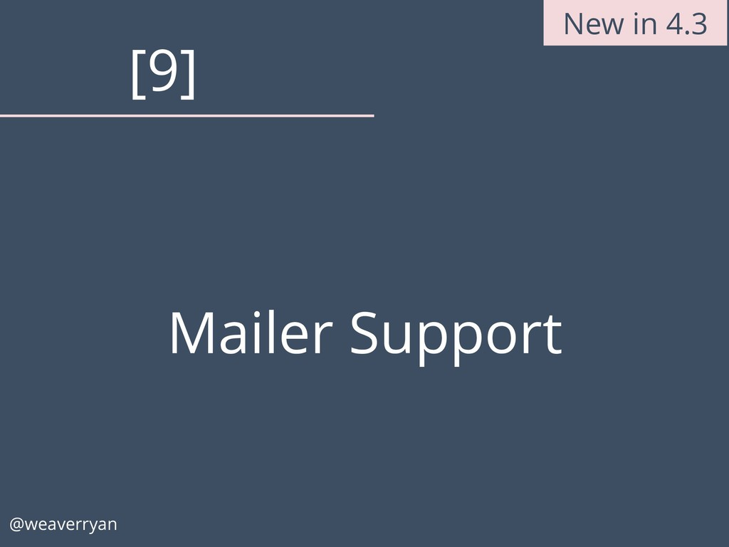 Mailer Support @weaverryan [9] New in 4.3