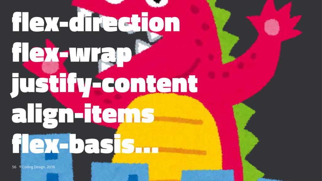 flex-direction flex-wrap justify-content align-...