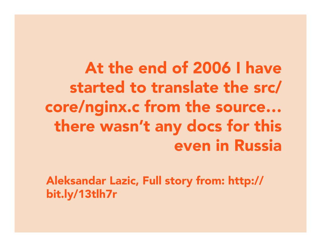Aleksandar Lazic, Full story from: http:// bit....