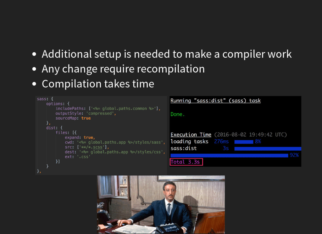 Additional setup is needed to make a compiler w...