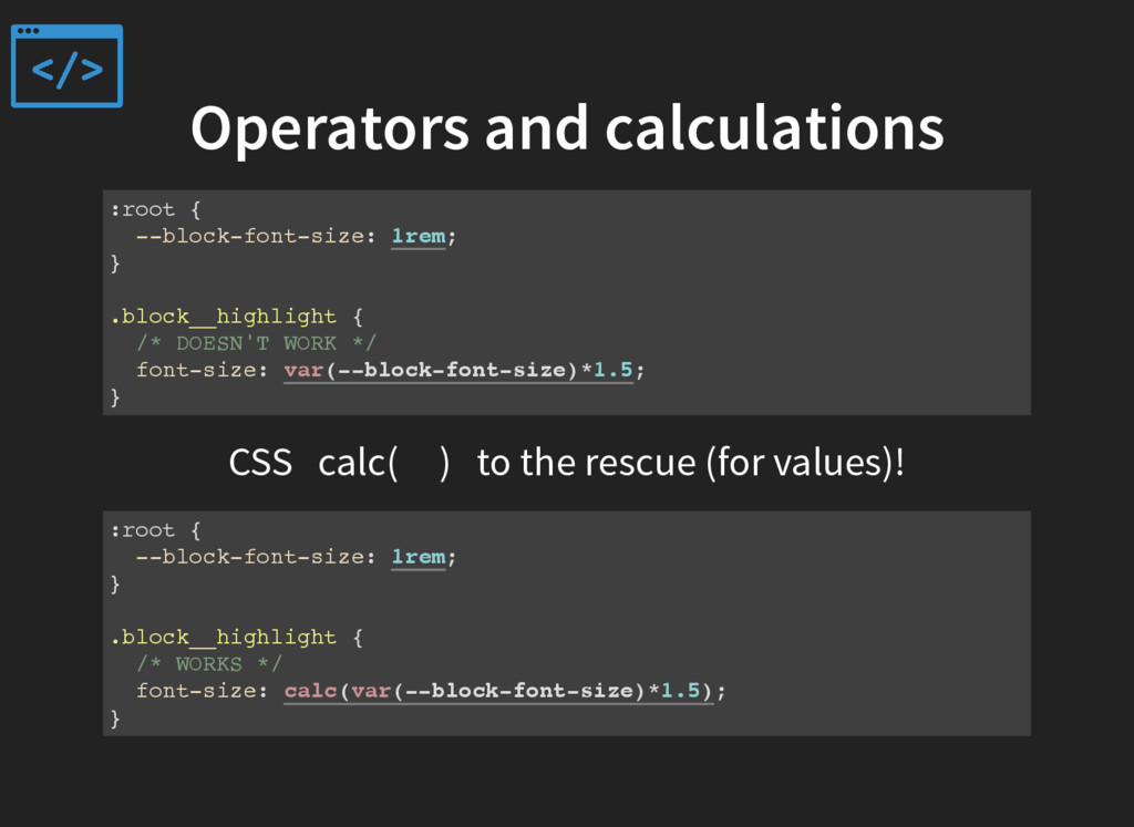 Operators and calculations :root { --block-font...