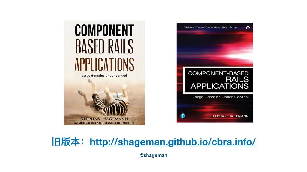 旧版本:http://shageman.github.io/cbra.info/ @shage...