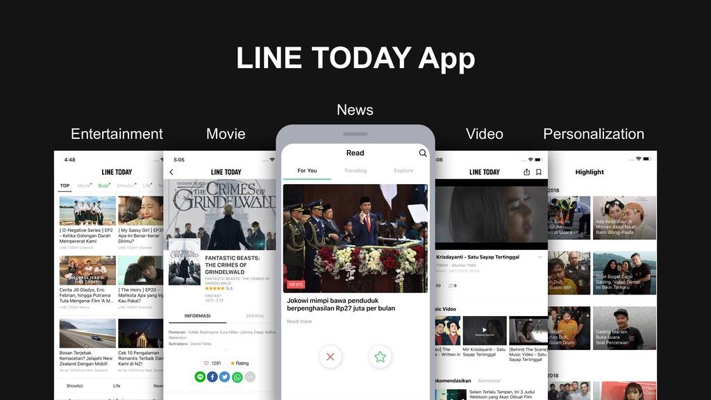 LINE TODAY App News Movie Entertainment Video P...