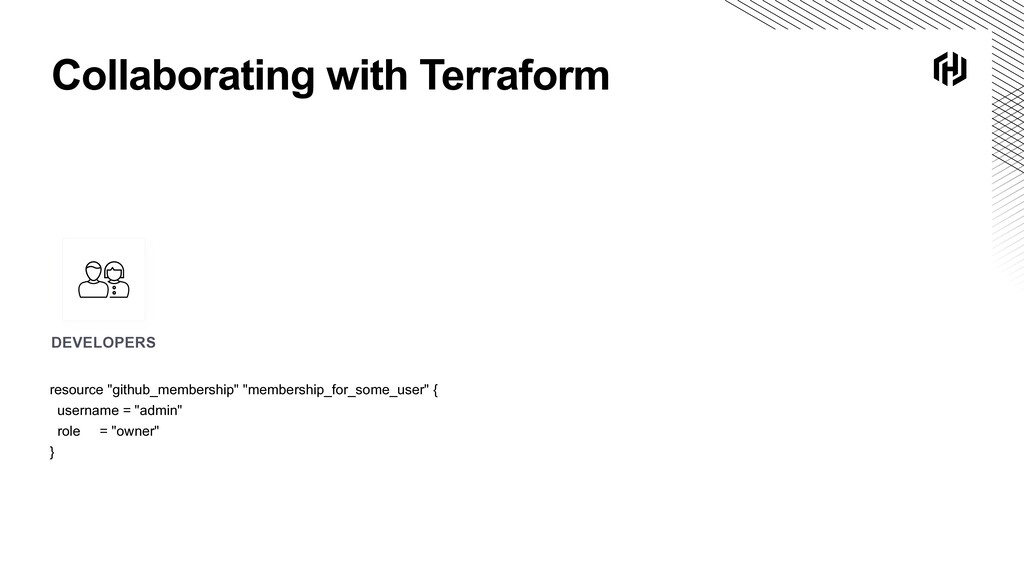 Collaborating with Terraform DEVELOPERS resourc...