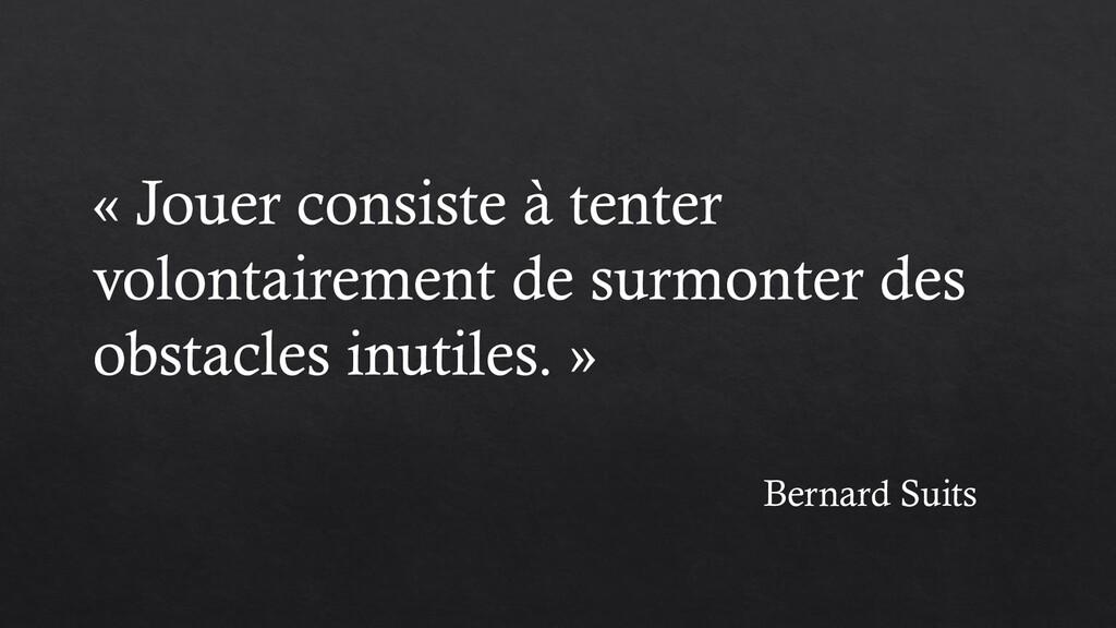 Bernard Suits