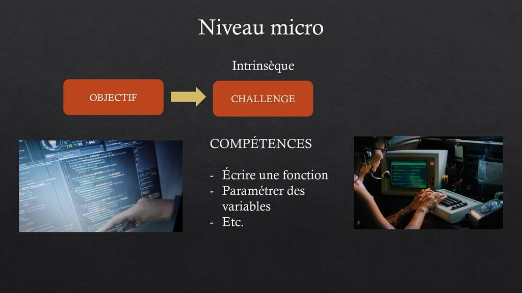 COMPÉTENCES - Écrire une fonction - Paramétrer ...