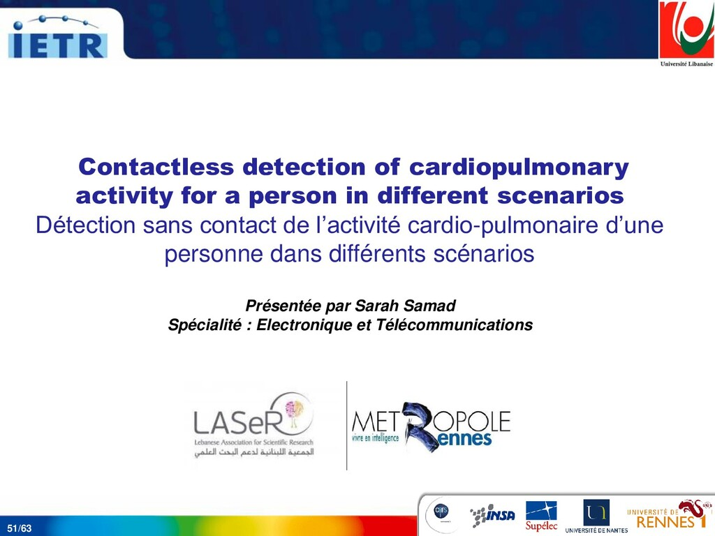 51/63 Contactless detection of cardiopulmonary ...