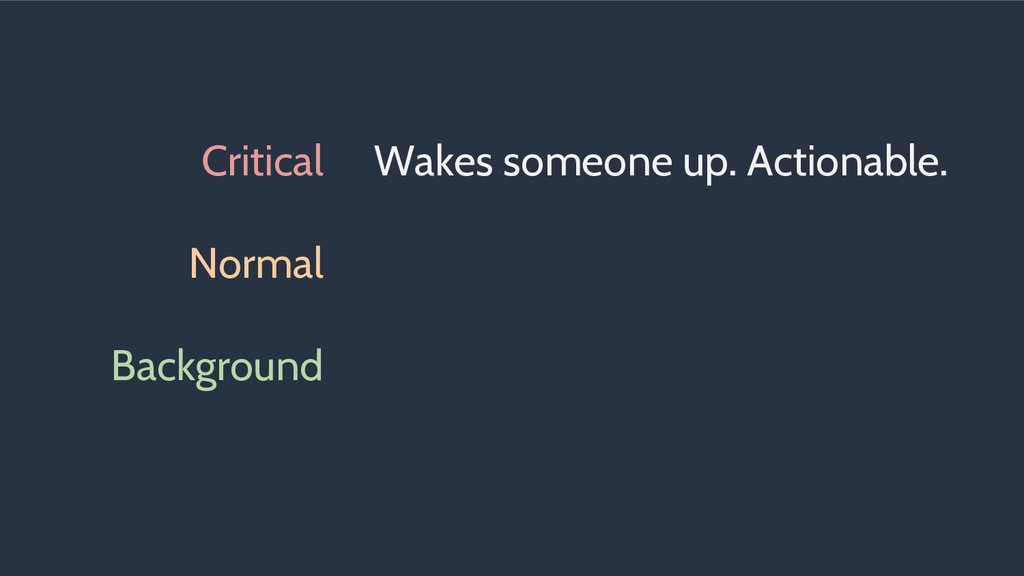 Critical Normal Background Wakes someone up. Ac...