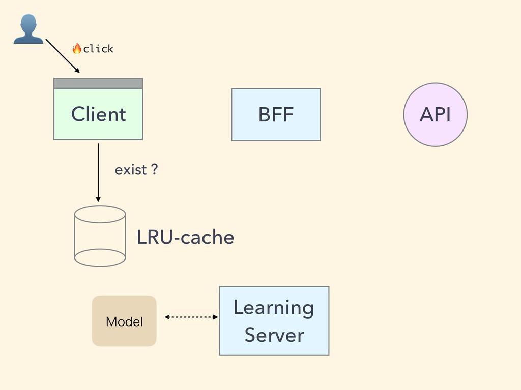 BFF Client API Learning Server .PEFM LRU-cache ...