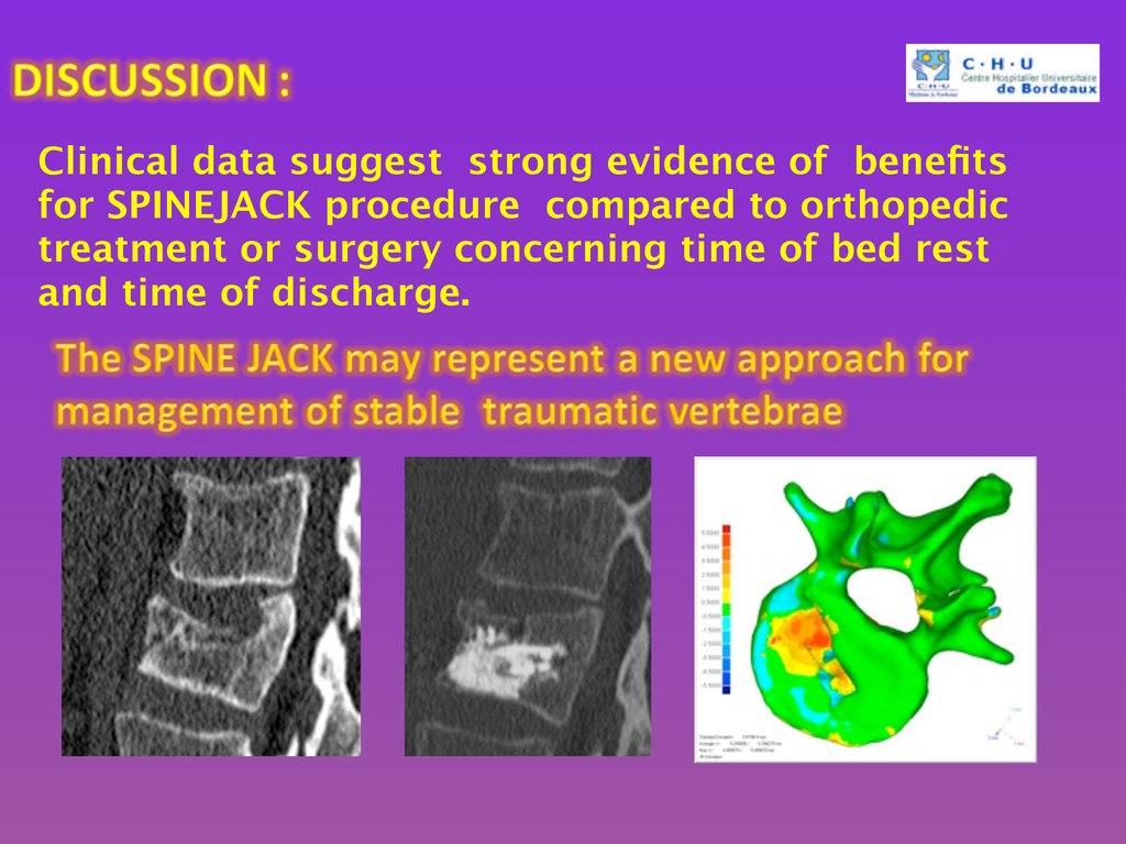 Clinical data suggest strong evidence of benefit...