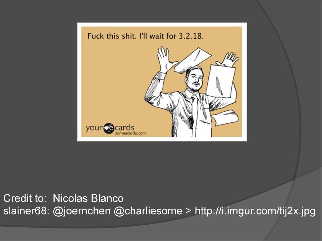 Credit to: Nicolas Blanco slainer68: @joernchen...