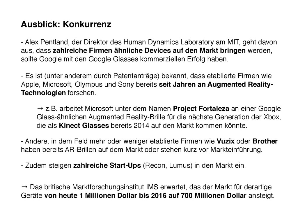 Ausblick: Konkurrenz - Alex Pentland, der Direk...