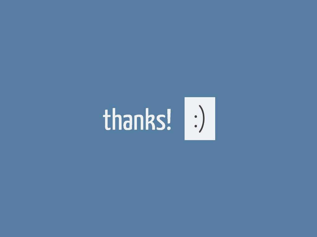 thanks! :)