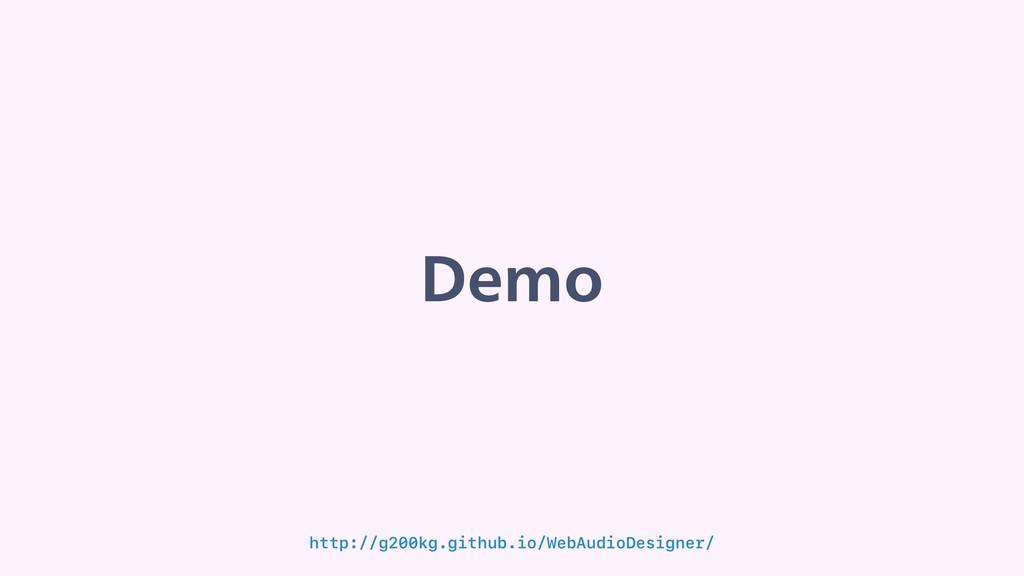 %FNP http://g200kg.github.io/WebAudioDesigner/