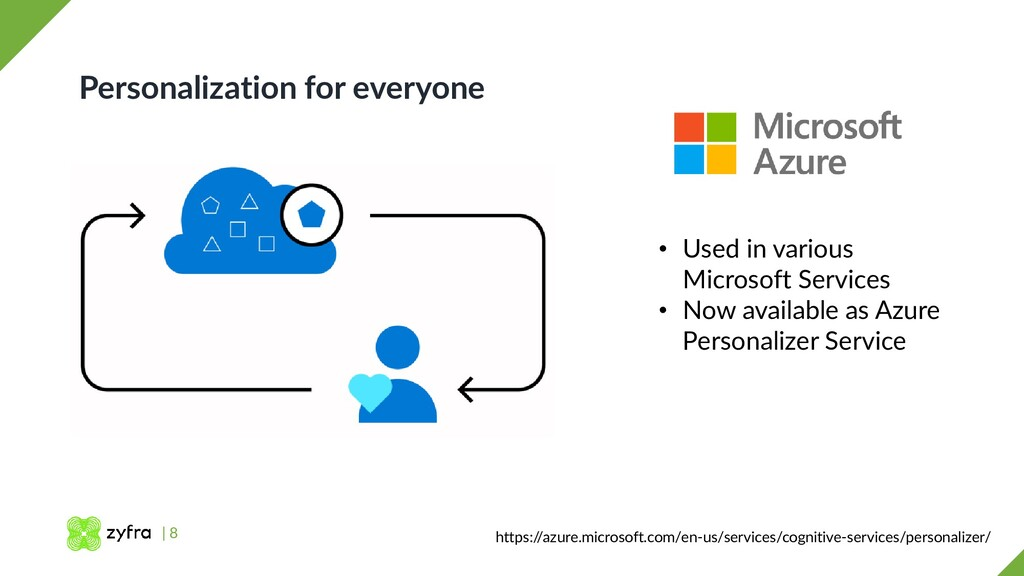 | 8 Personalization for everyone https:/ /azure...