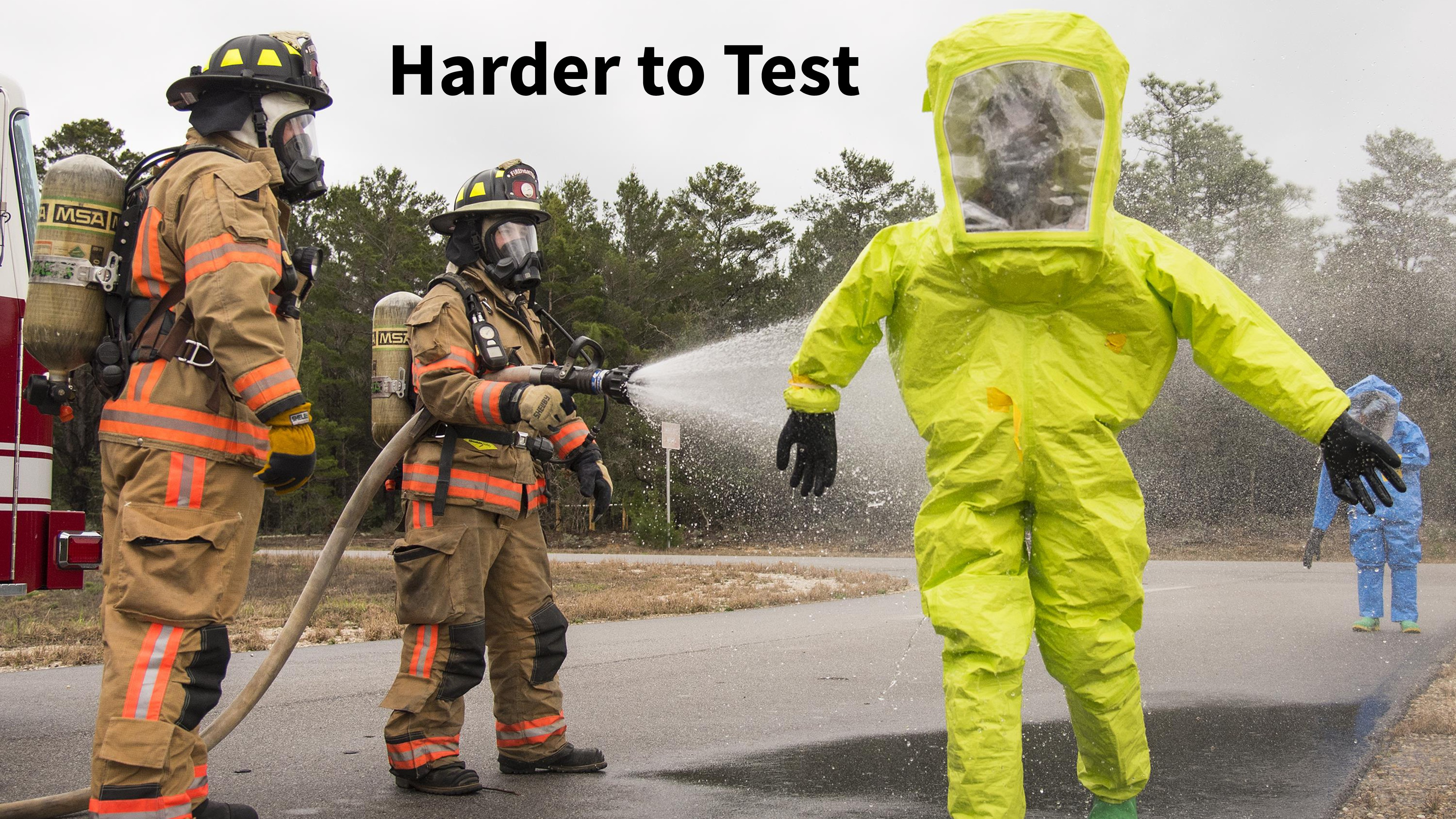 Harder to Test
