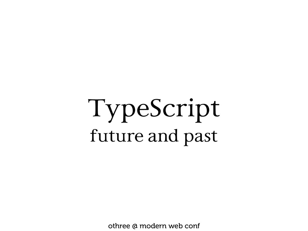 TypeScript