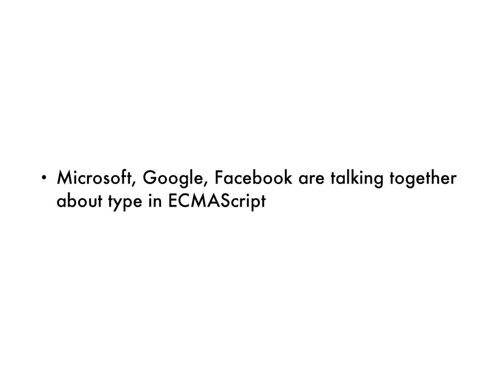 • Microsoft, Google, Facebook are talking toget...