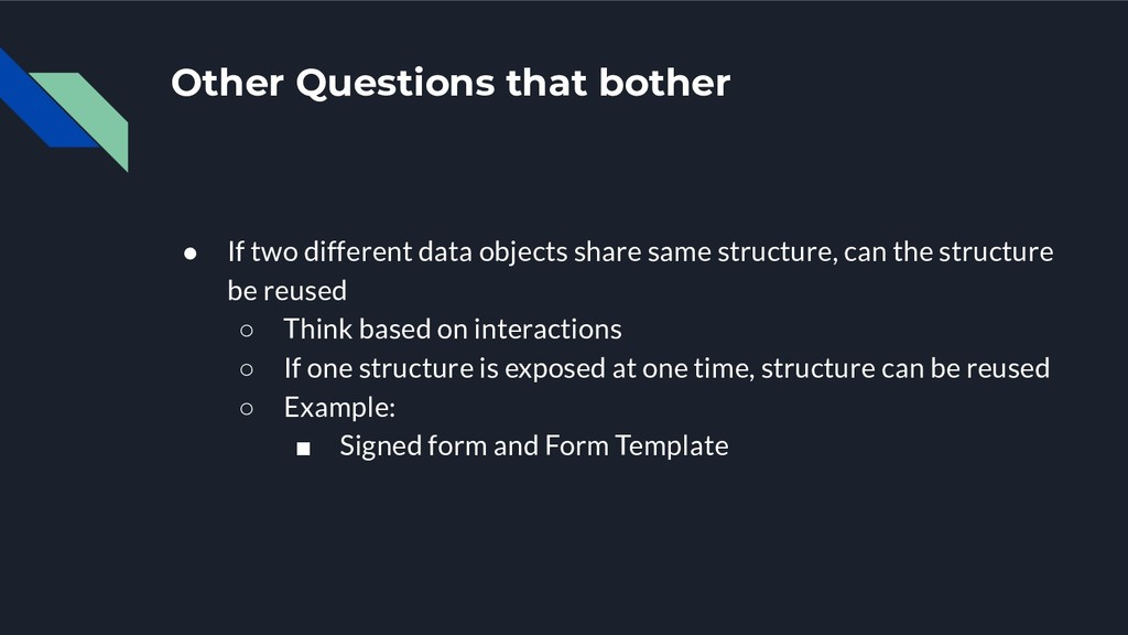 Other Questions that bother ● If two different ...