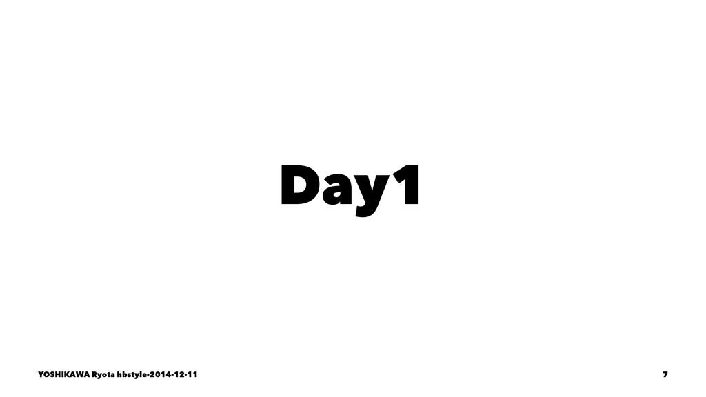Day1 YOSHIKAWA Ryota hbstyle-2014-12-11 7
