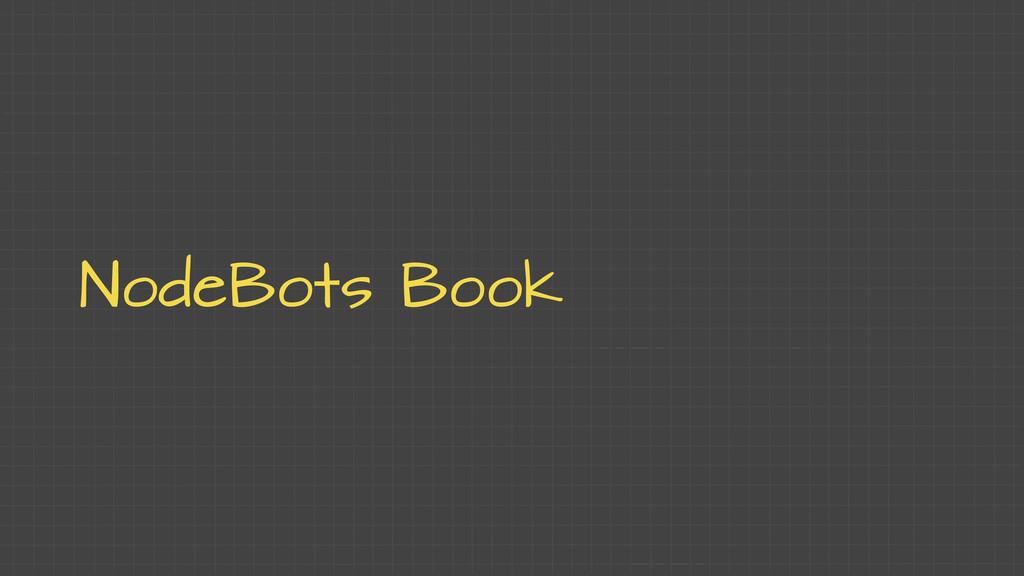 NodeBots Book