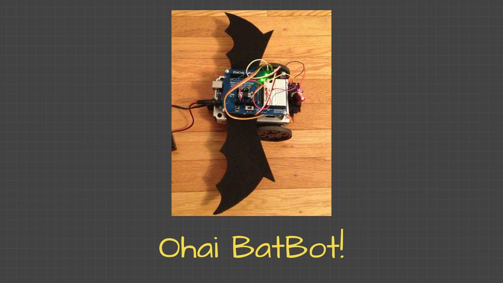 Ohai BatBot!