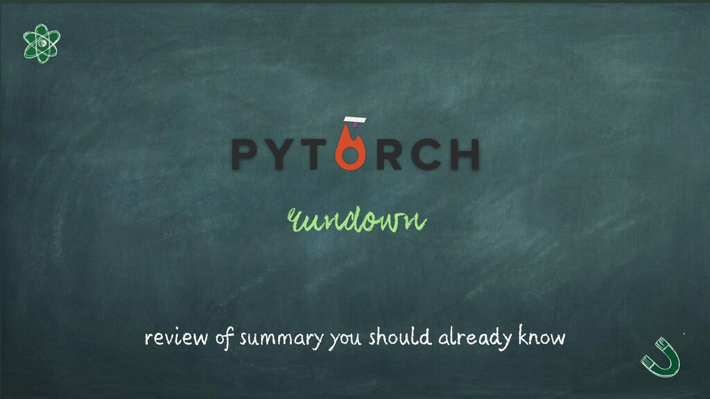 rundown review of summary you should already kn...