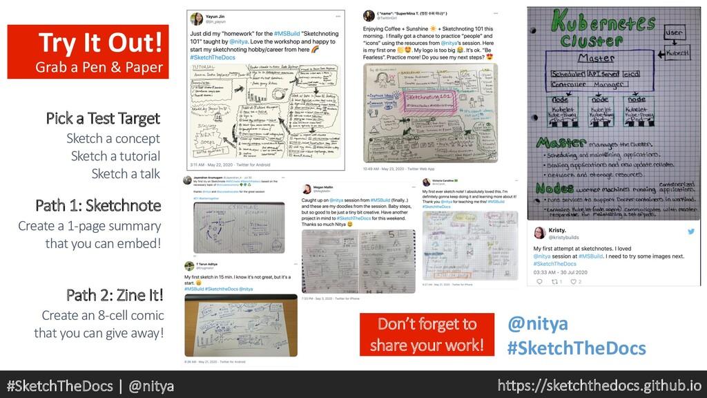https://sketchthedocs.github.io #SketchTheDocs ...