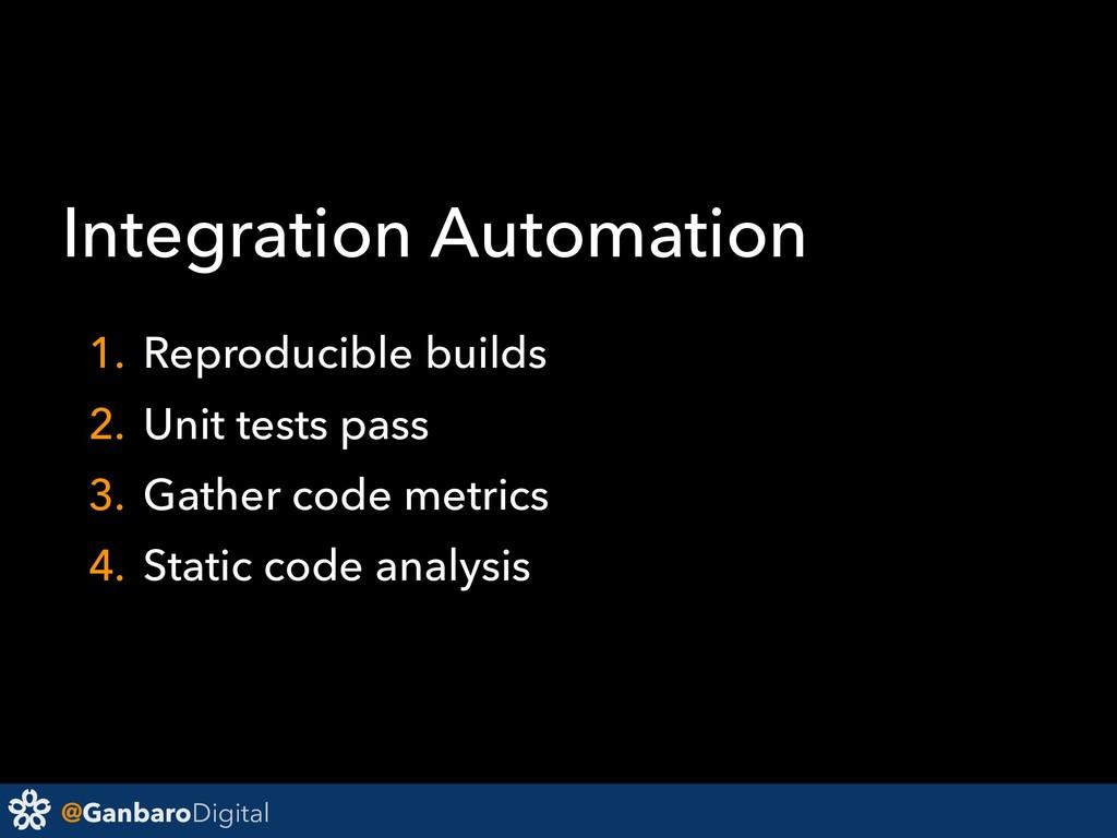 @GanbaroDigital Integration Automation 1. Repro...