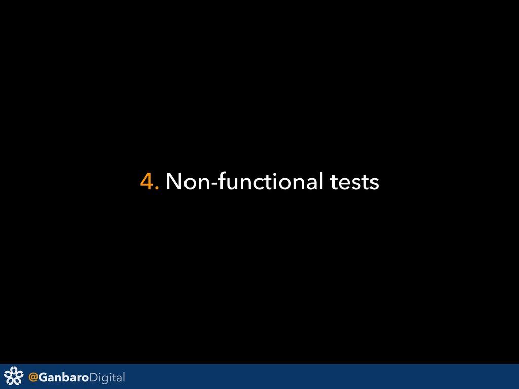 @GanbaroDigital 4. Non-functional tests