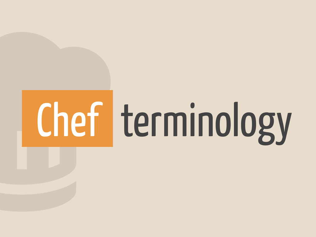 2terminology Chef