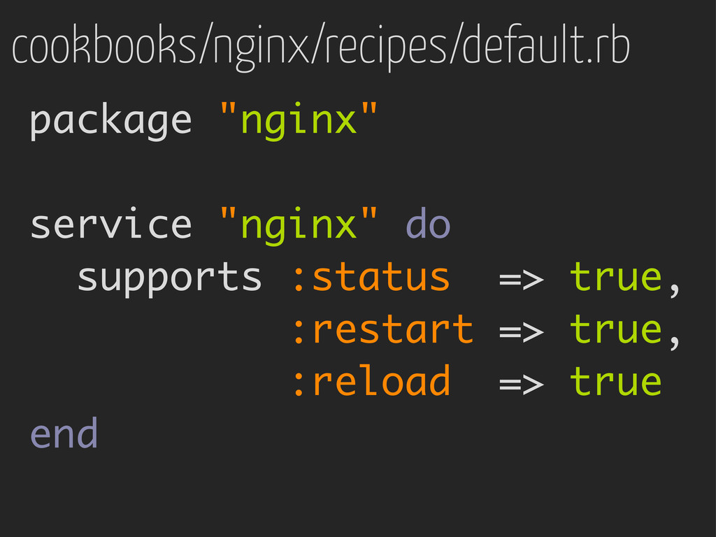 "cookbooks/nginx/recipes/default.rb package ""ngi..."
