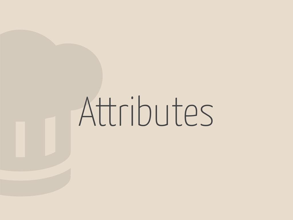 2Attributes