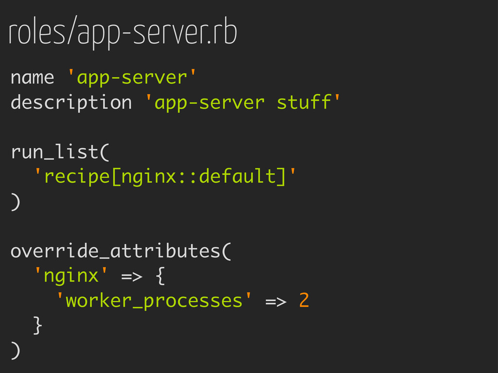 roles/app-server.rb name 'app-server' descripti...