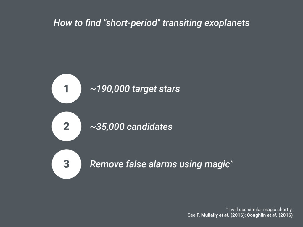 "How to find ""short-period"" transiting exoplanets..."