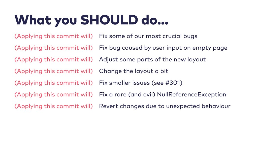 (Applying this commit will) (Applying this comm...