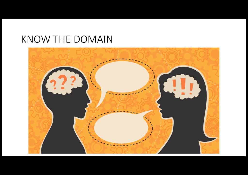 KNOW THE DOMAIN