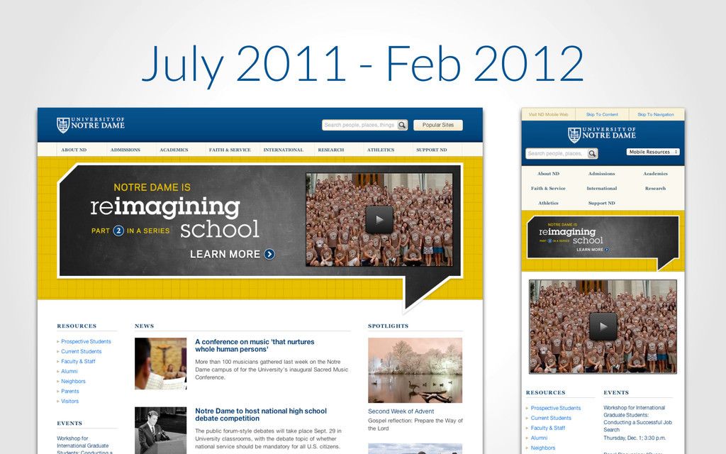 July 2011 - Feb 2012