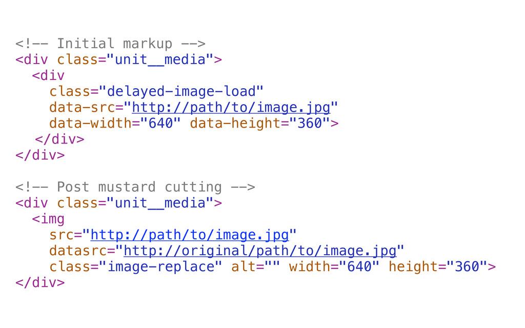 "<!-- Initial markup --> <div class=""unit__media..."