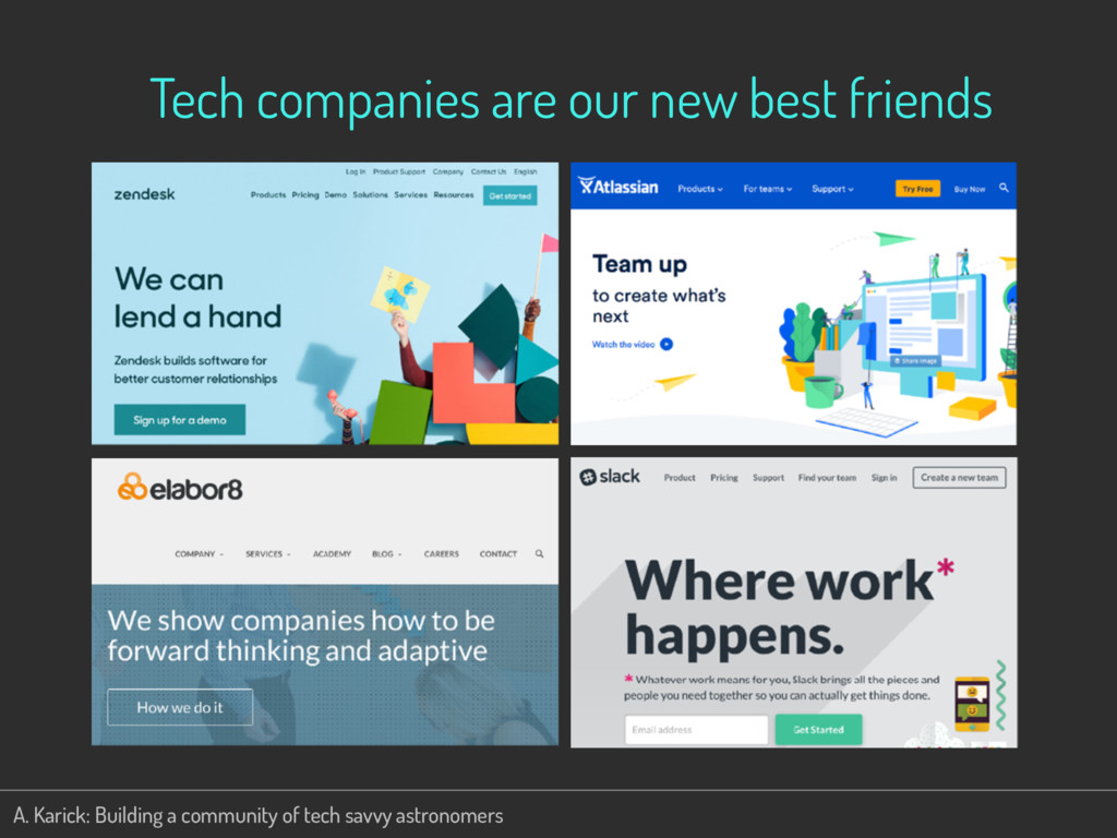 Tech companies are our new best friends A. Kari...
