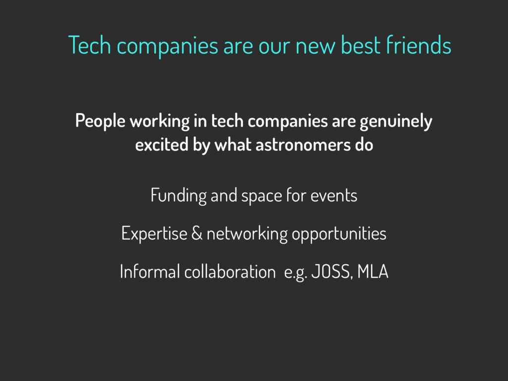 Tech companies are our new best friends  Peopl...