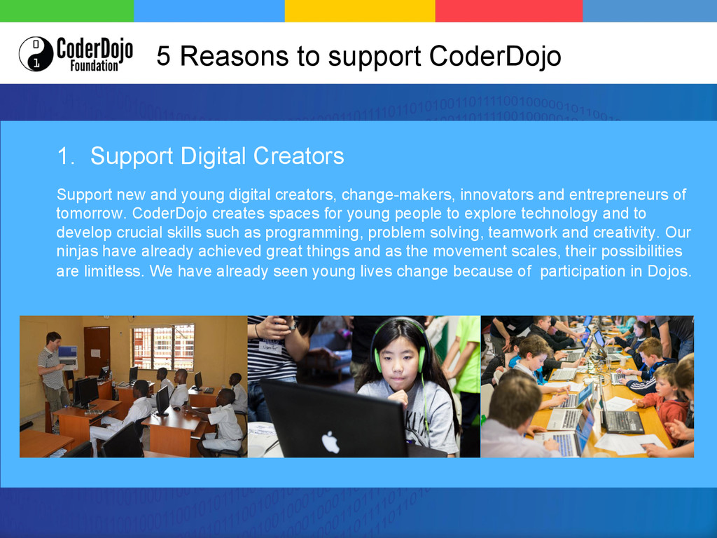 1. Support Digital Creators Support new and you...