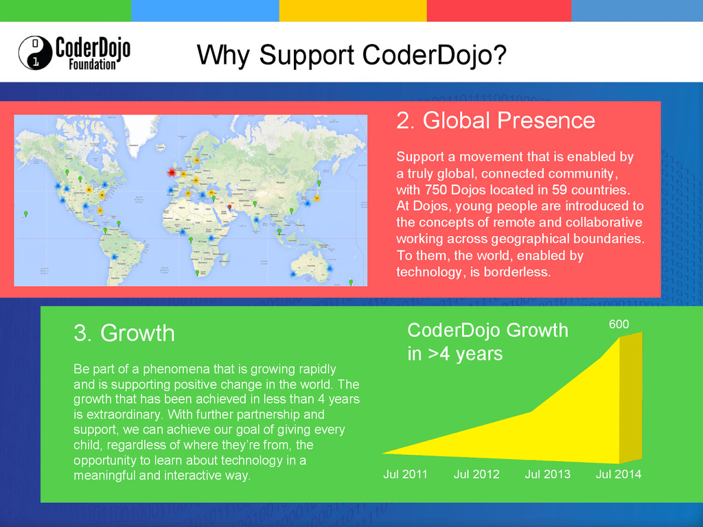 2. Global Presence Support a movement that is e...