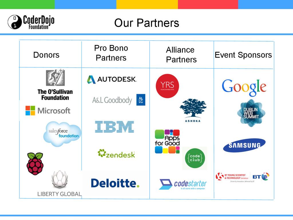 Event Sponsors Donors Pro Bono Partners Allianc...